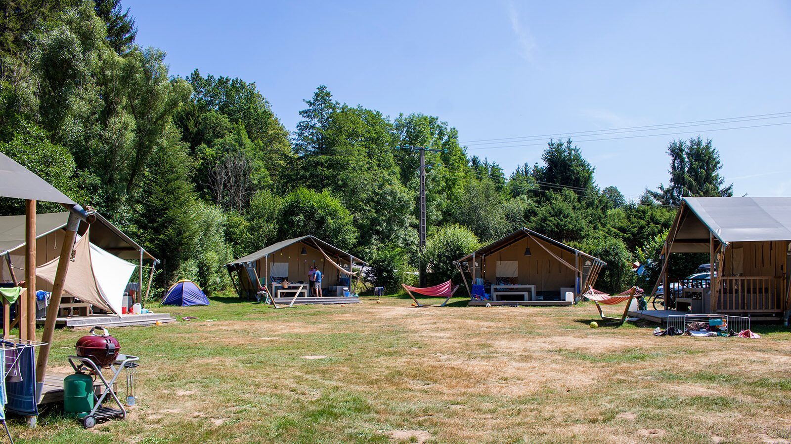Terrain de camping–Au Clos de la Chaume