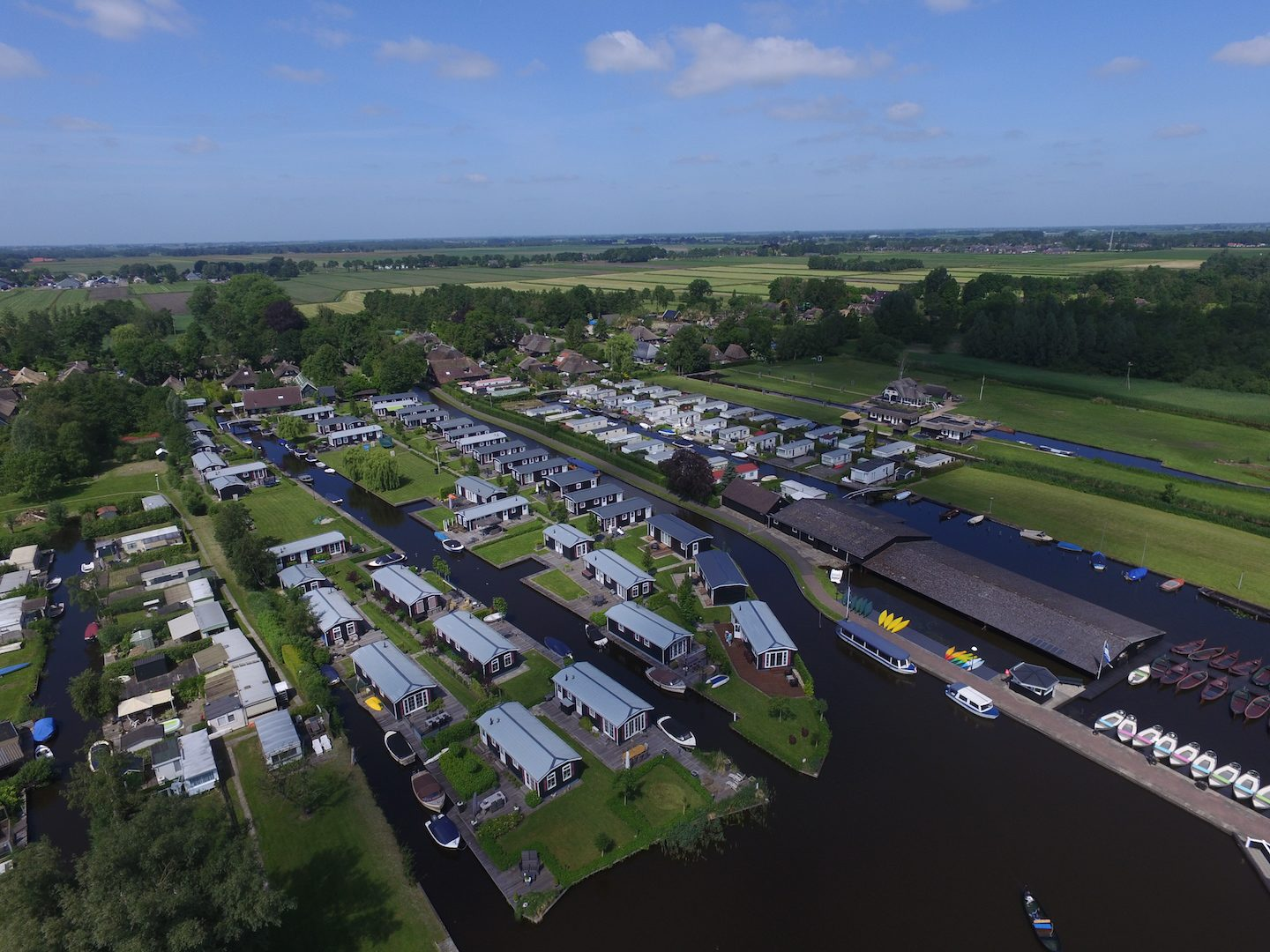 Accommodaties Giethoorn