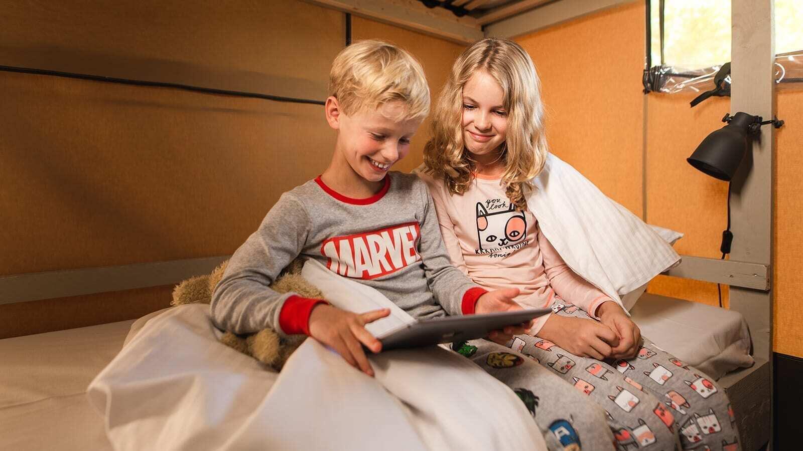 Kinderen lezen Villatent