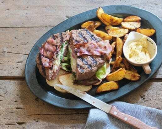 Recipe: stuffed hamburger