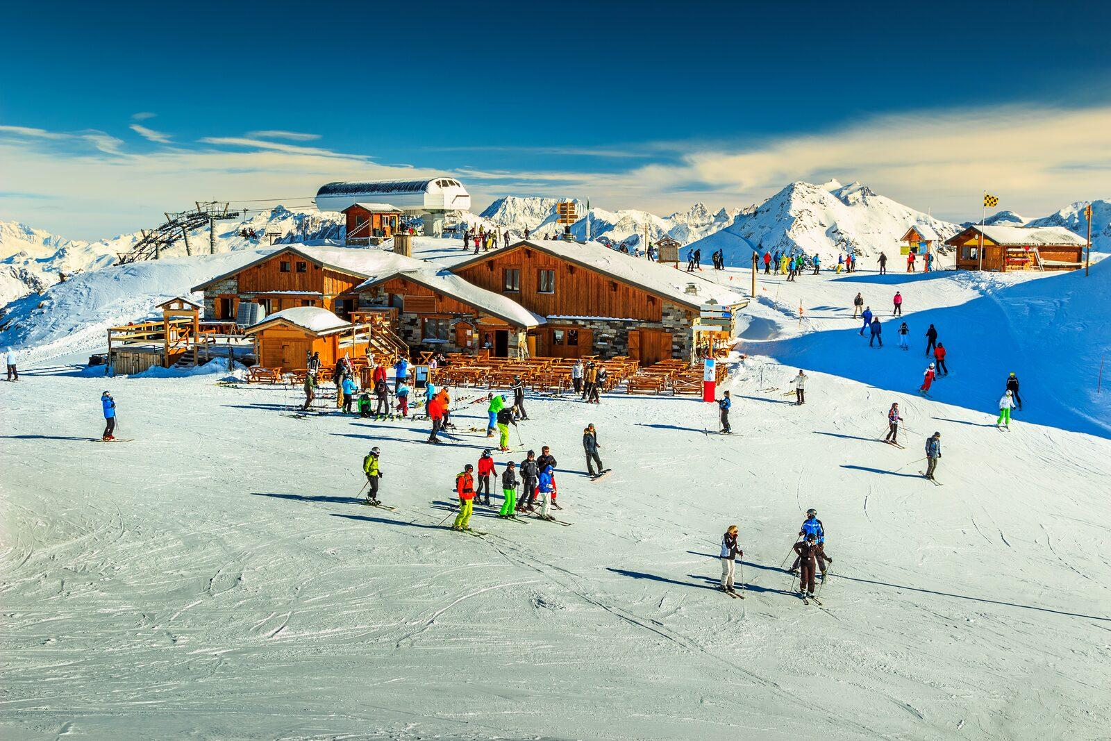 skiarea les portes du soleil