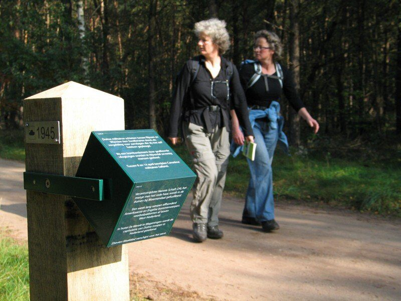 The Wereldtijdpad (50 kilometers)