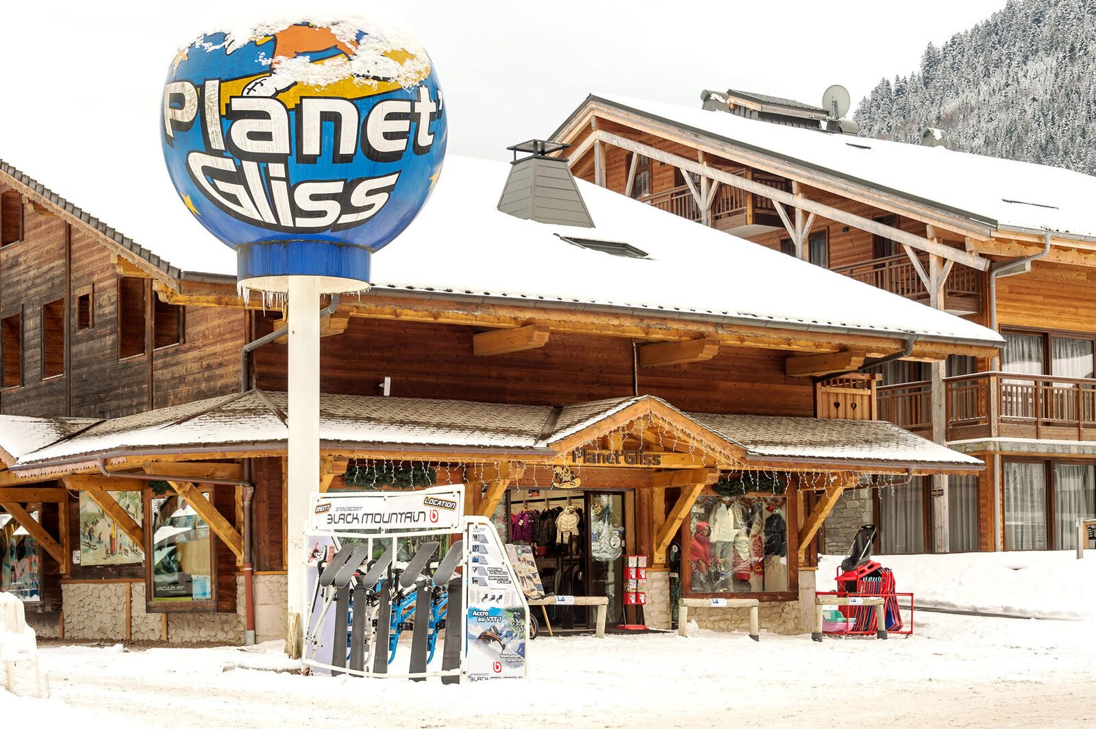 Planet Gliss : location de matériel de ski à la Chapelle d'Abondance