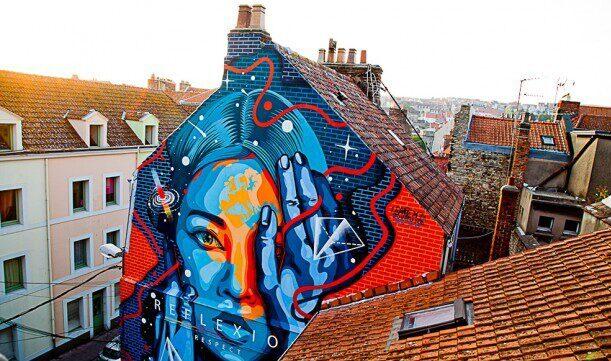 Street art parcours Boulogne-sur-Mer