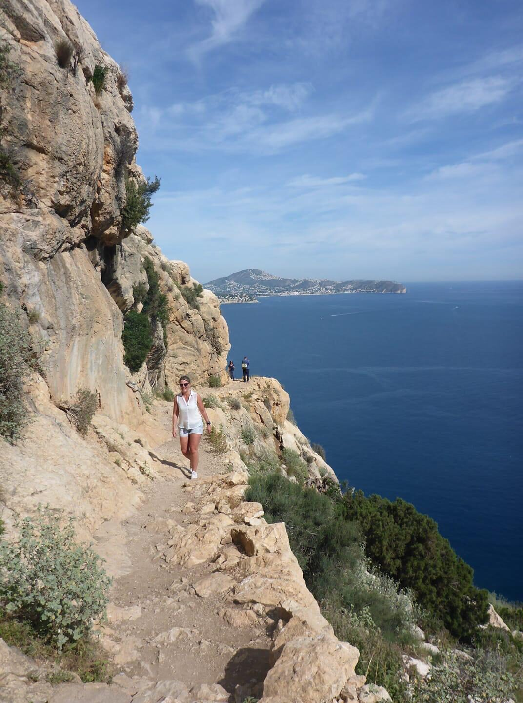 Walking on the Ifach
