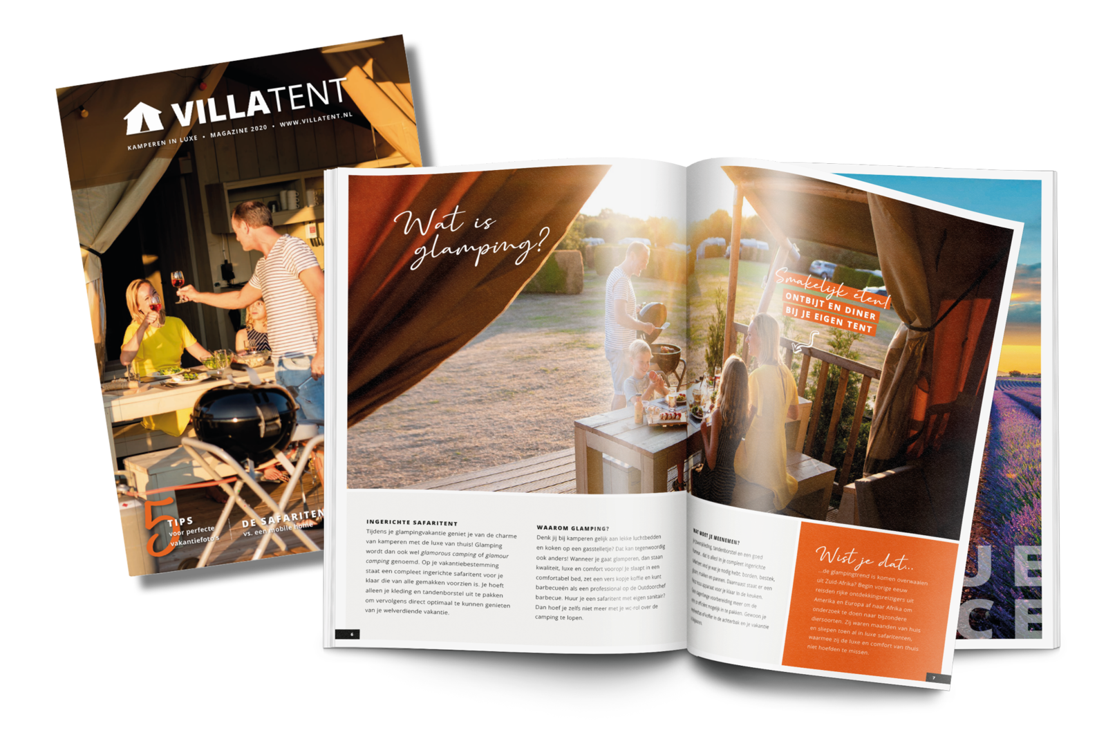 Villatent glamping magazine 2020