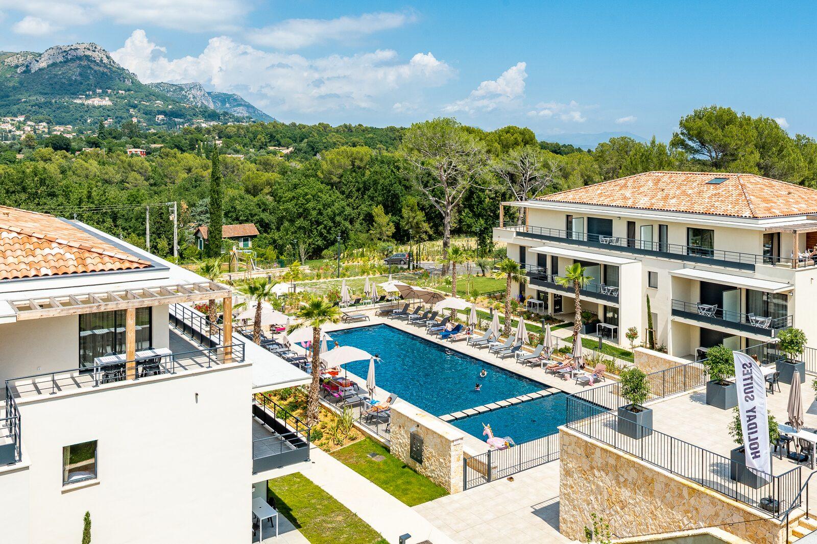 Résidence hôtelière sur la Côte d'Azur à Evancy Vence