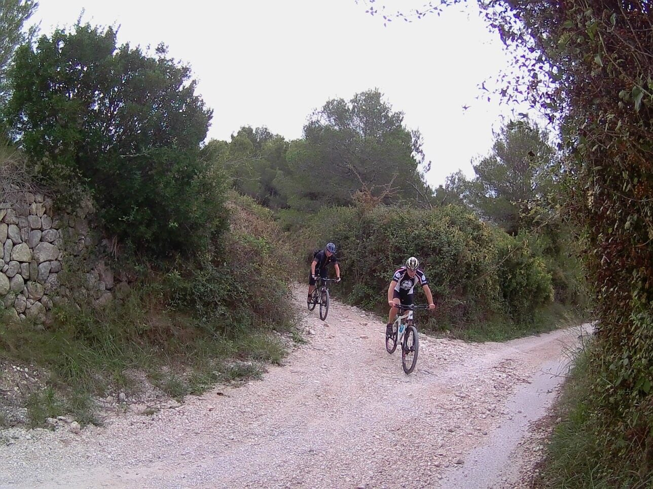 Mountainbike Moraira