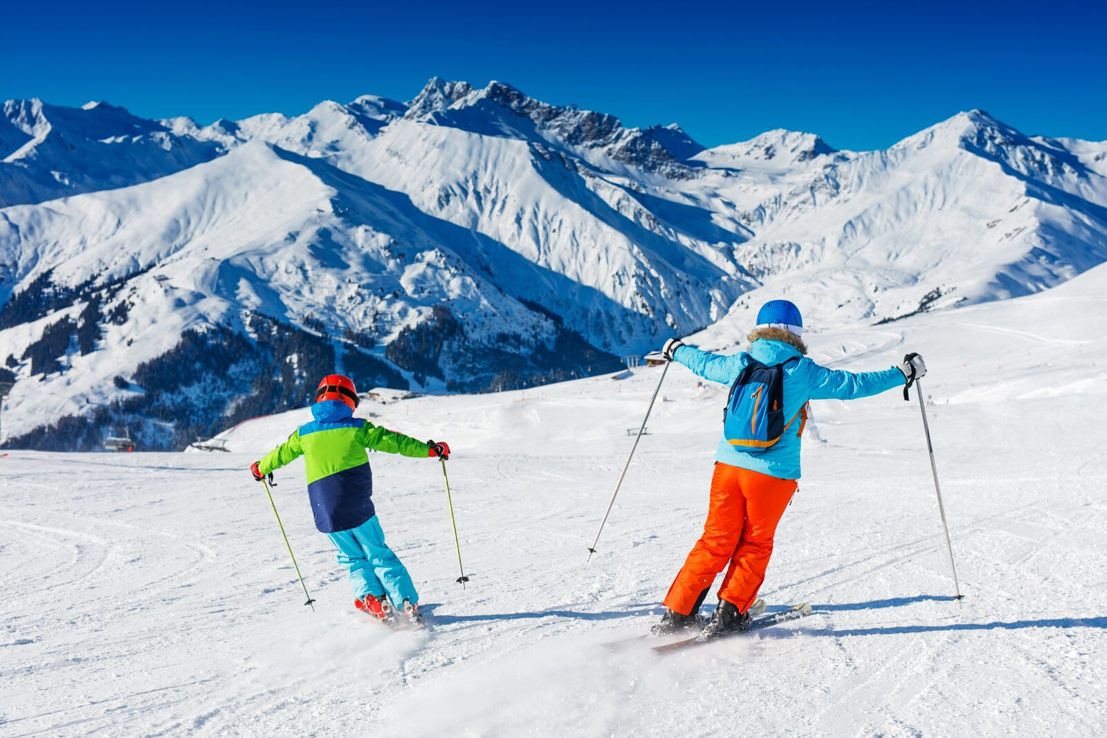 Winter sports in the spring holidays