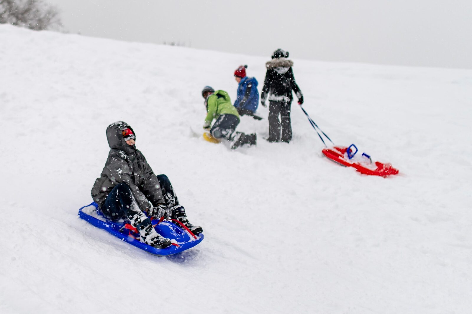 Flumserberg is one of the most kids friendly ski resorts