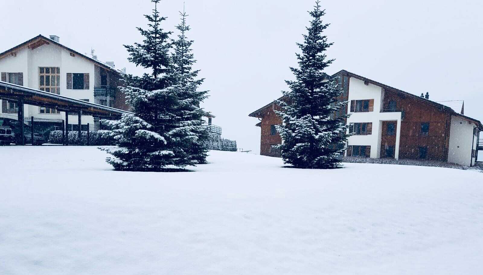In Resort Walensee apartments you find snow everywere! Even right outside your apartment!
