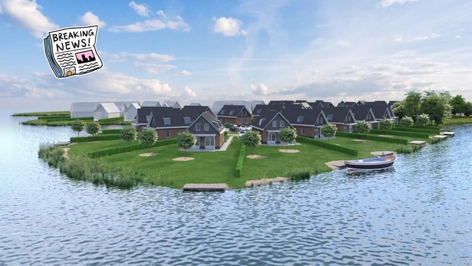 SALE STARTED expansion of Bungalowpark Zuiderzee