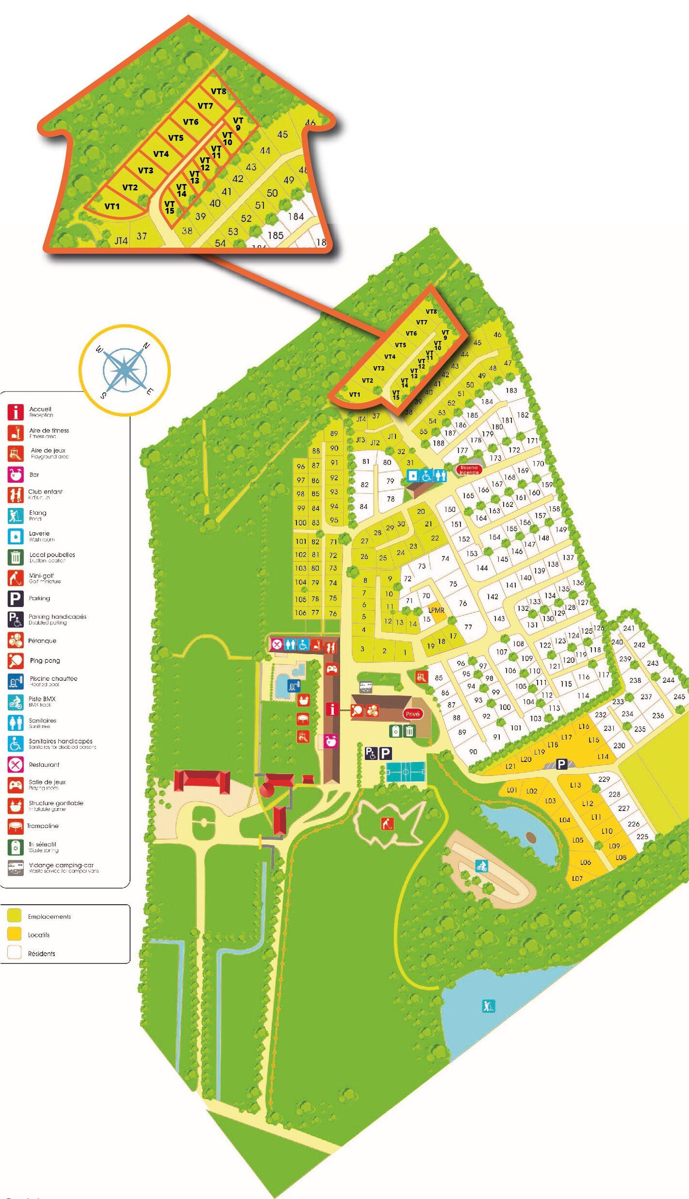 Karte Domaine du Logis