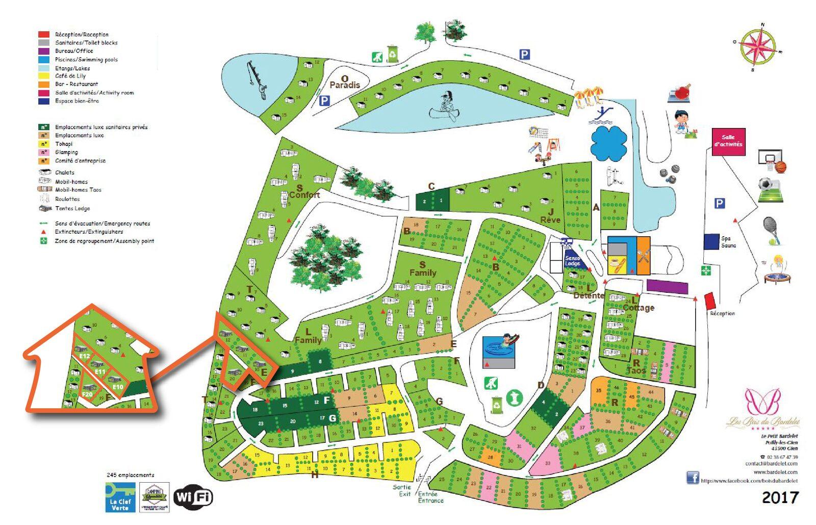 Map Les Bois du Bardelet