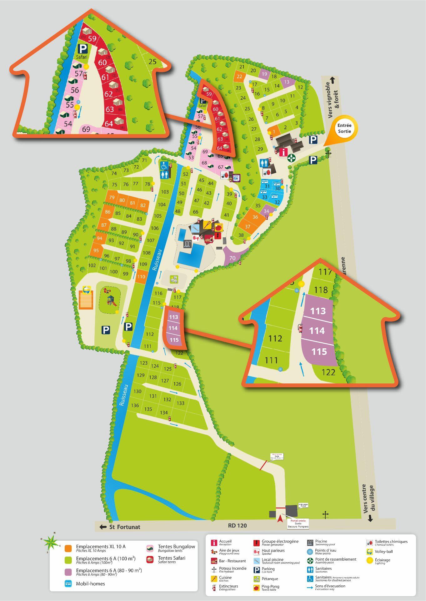 Karte La Garenne