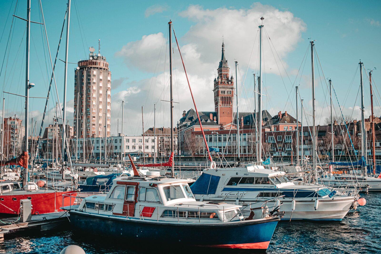 haven van dunkirk in noord frankrijk