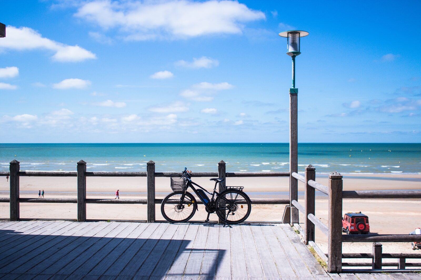 Beach of Dunkerque Zuydcoote Opal Coast