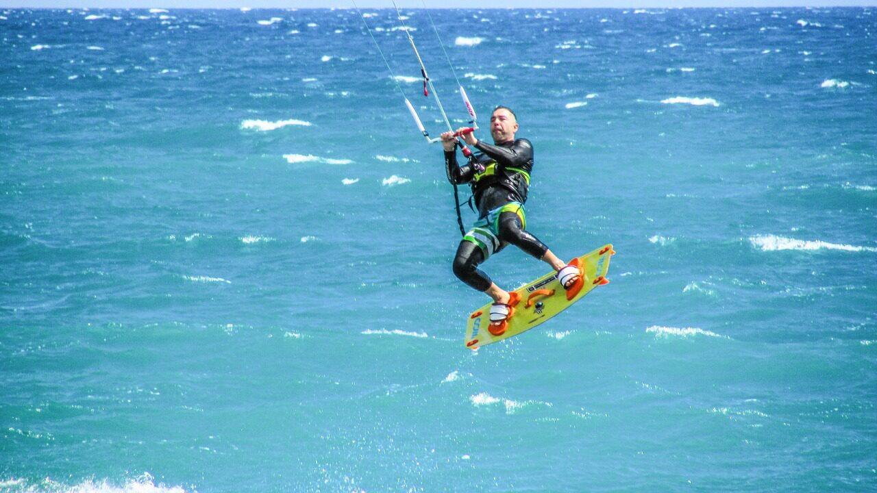 (Kite)surfen