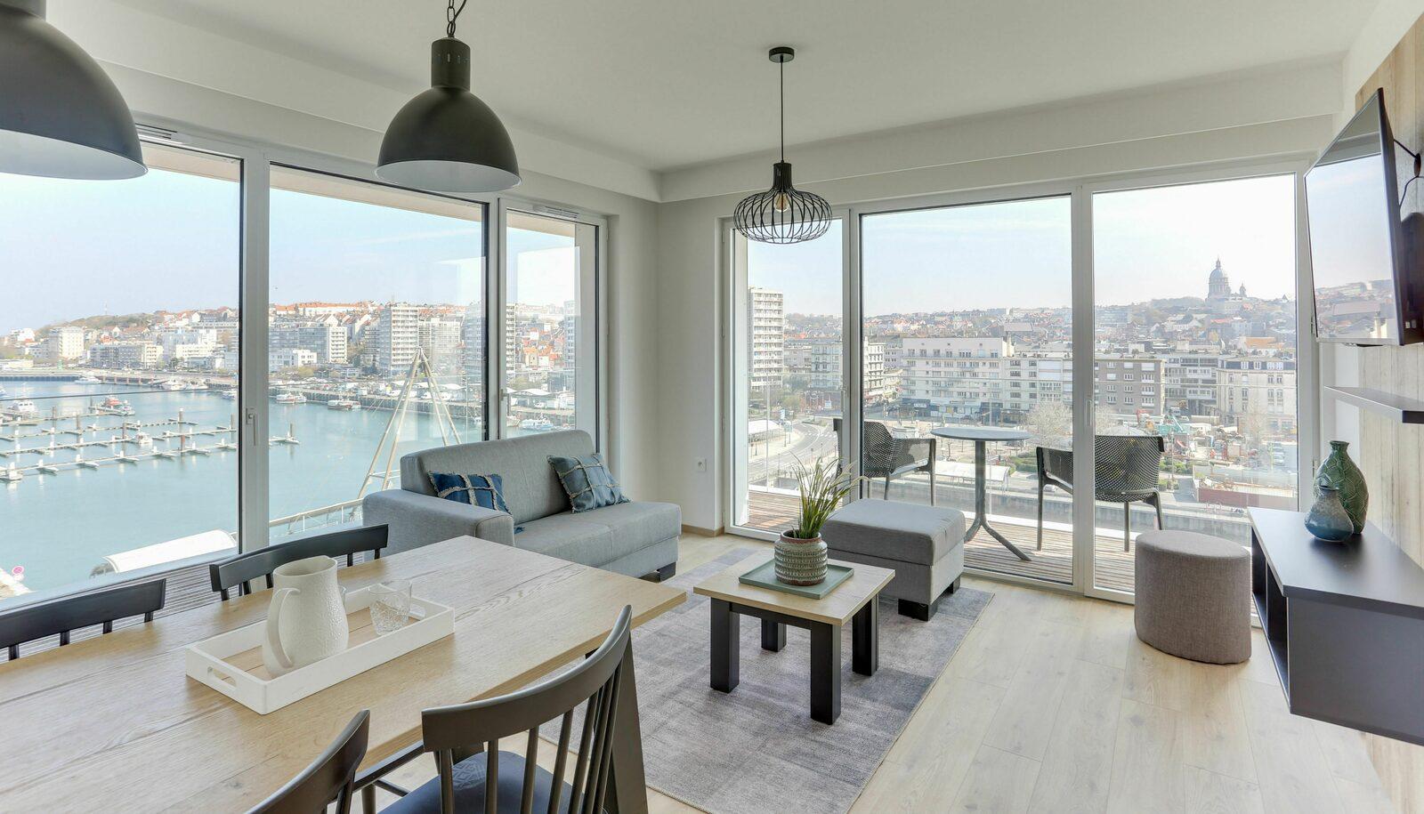Geniet van het stijlvolle comfort van een Evancy-appartement