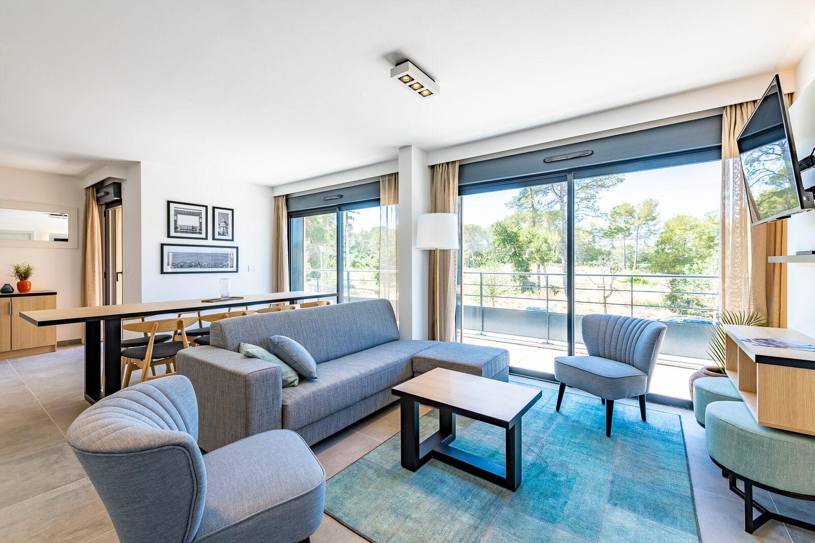Hôtel 4 étoiles à Vence - Chambre de Evancy Les Jardins d'Azur