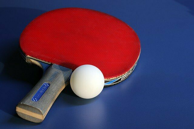 Les tables de ping-pong