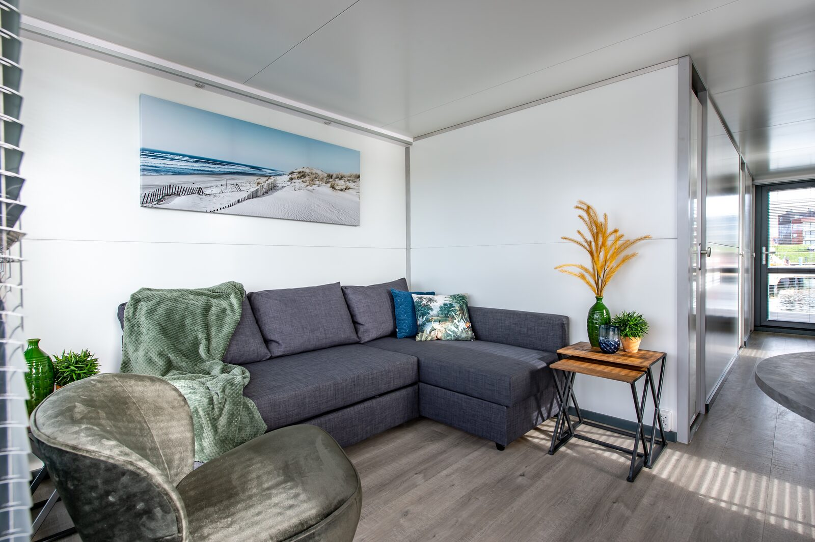 Interieur havenlodges kamperland