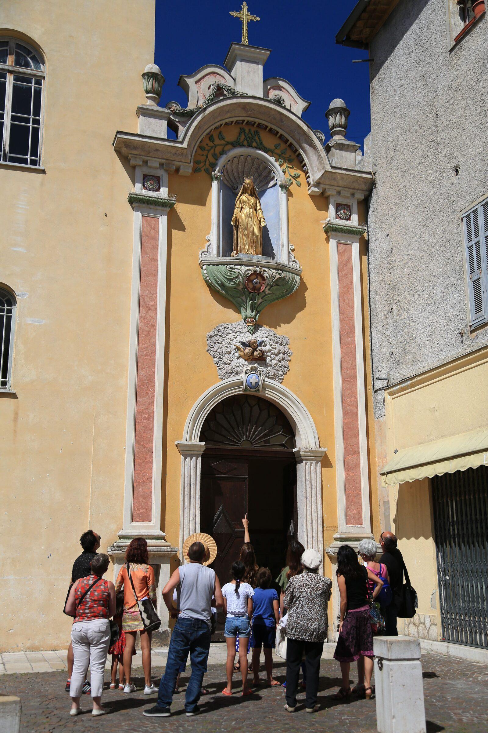 Cathédrale de Vence sur la Côte d'Azur