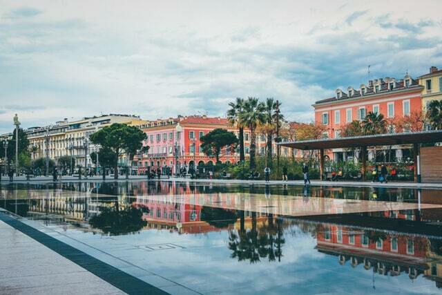 Place Masséna à Nice sur la Côte d'Azur