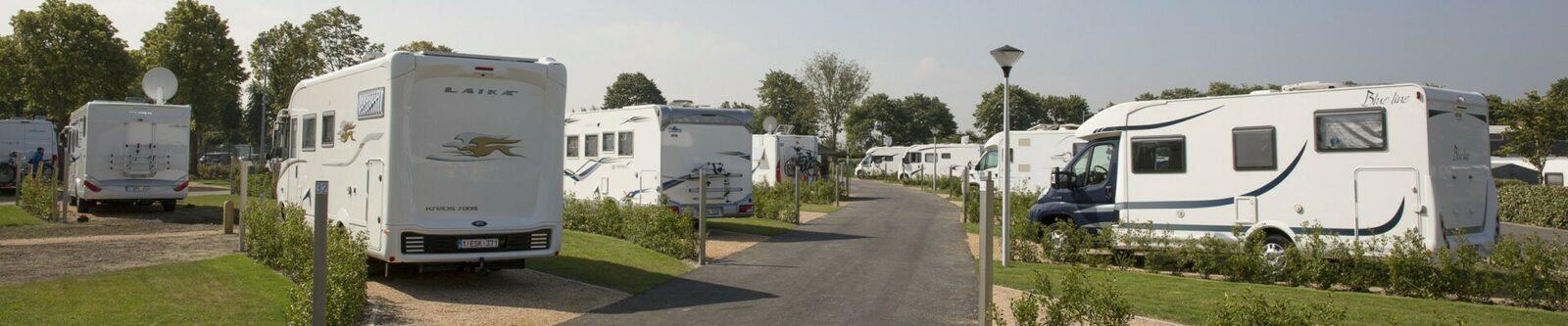 Camperplaats Kompas camping Nieuwpoort