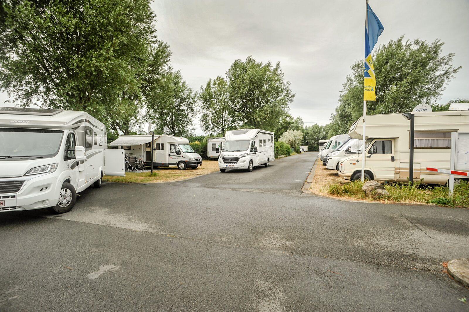 Camperplaatsen België