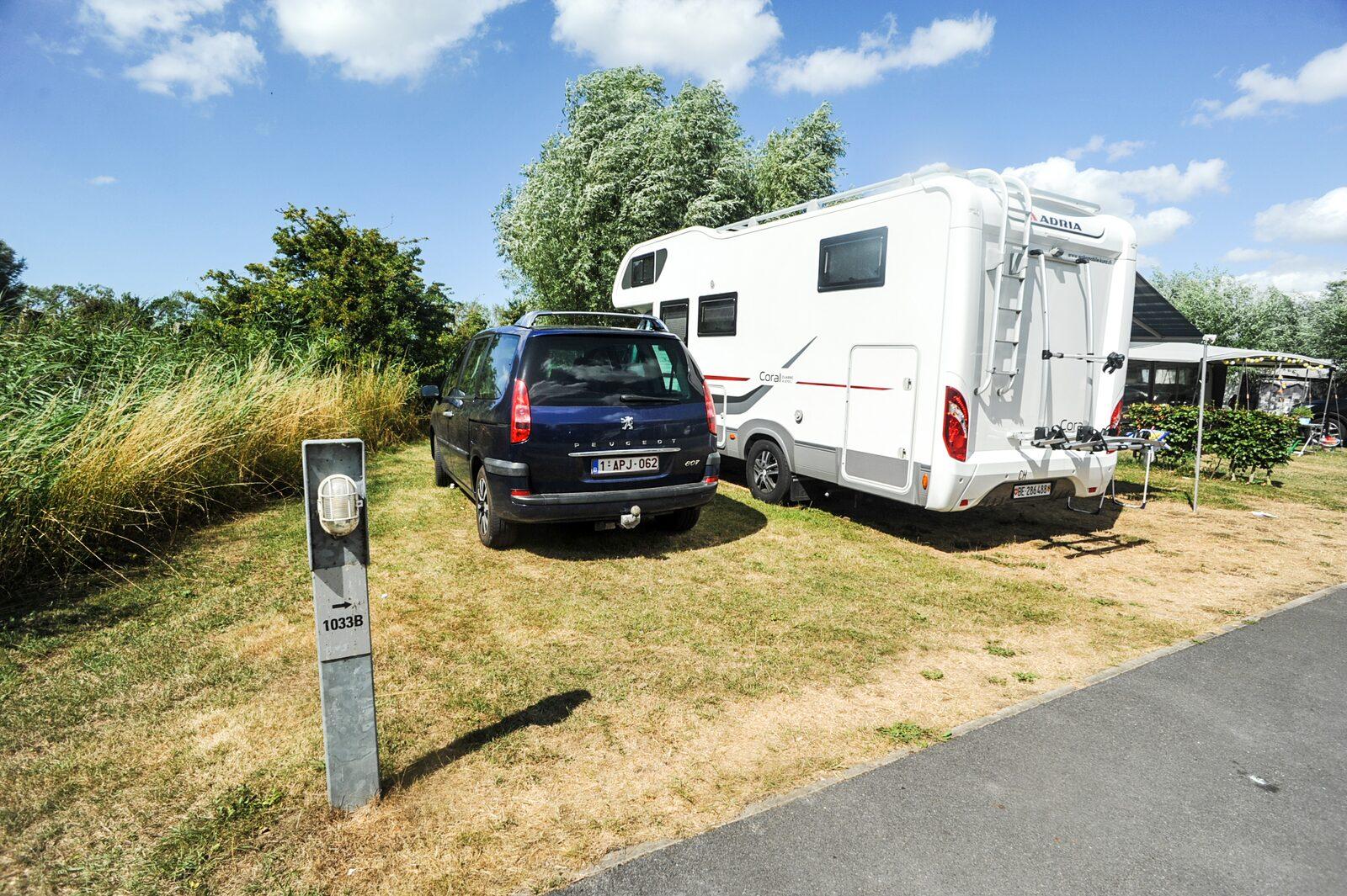 Les forfaits des hébergements de location Kompas Camping Nieuport