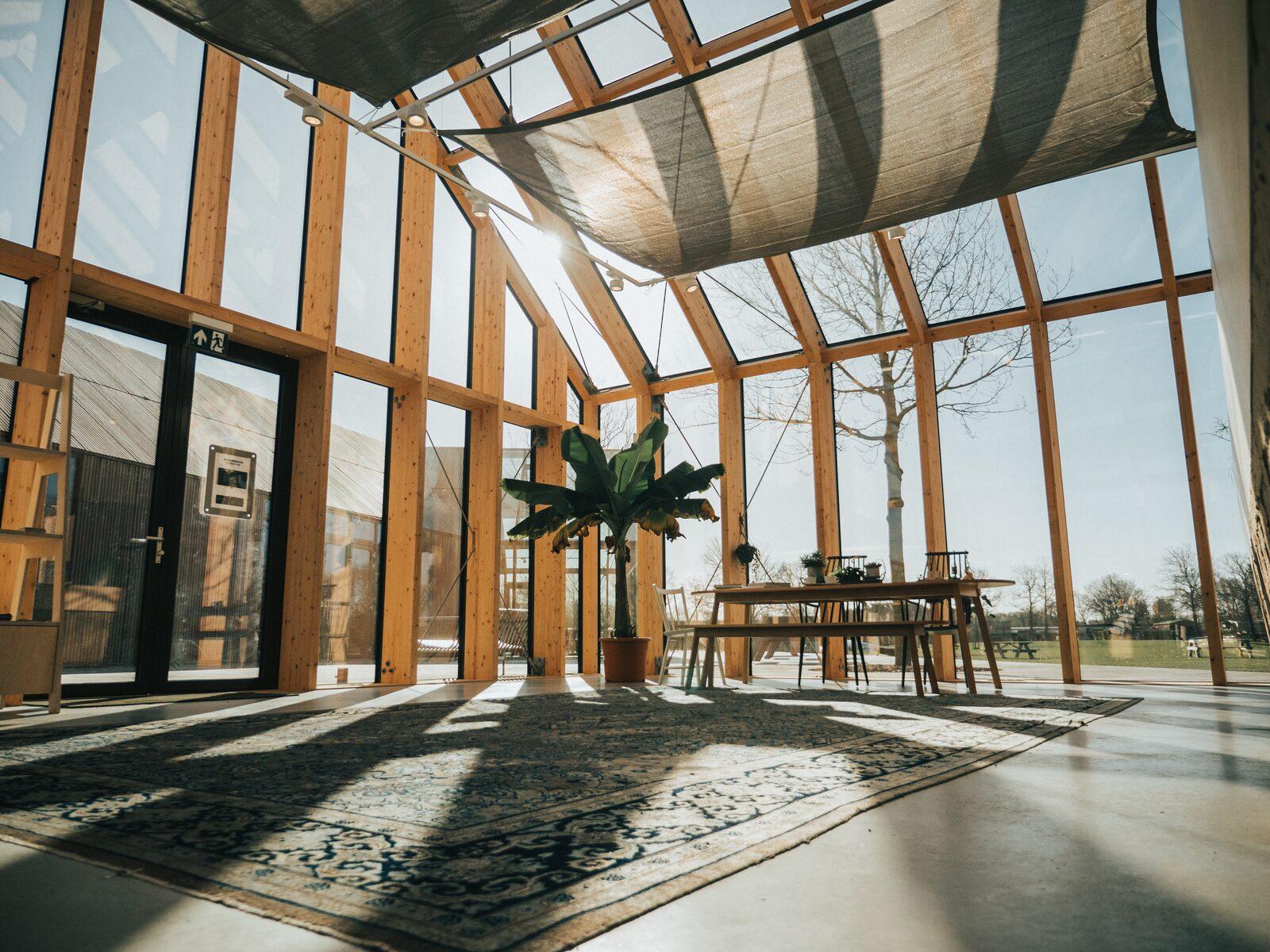 Receptiegebouw Vakantiepark De Klepperstee