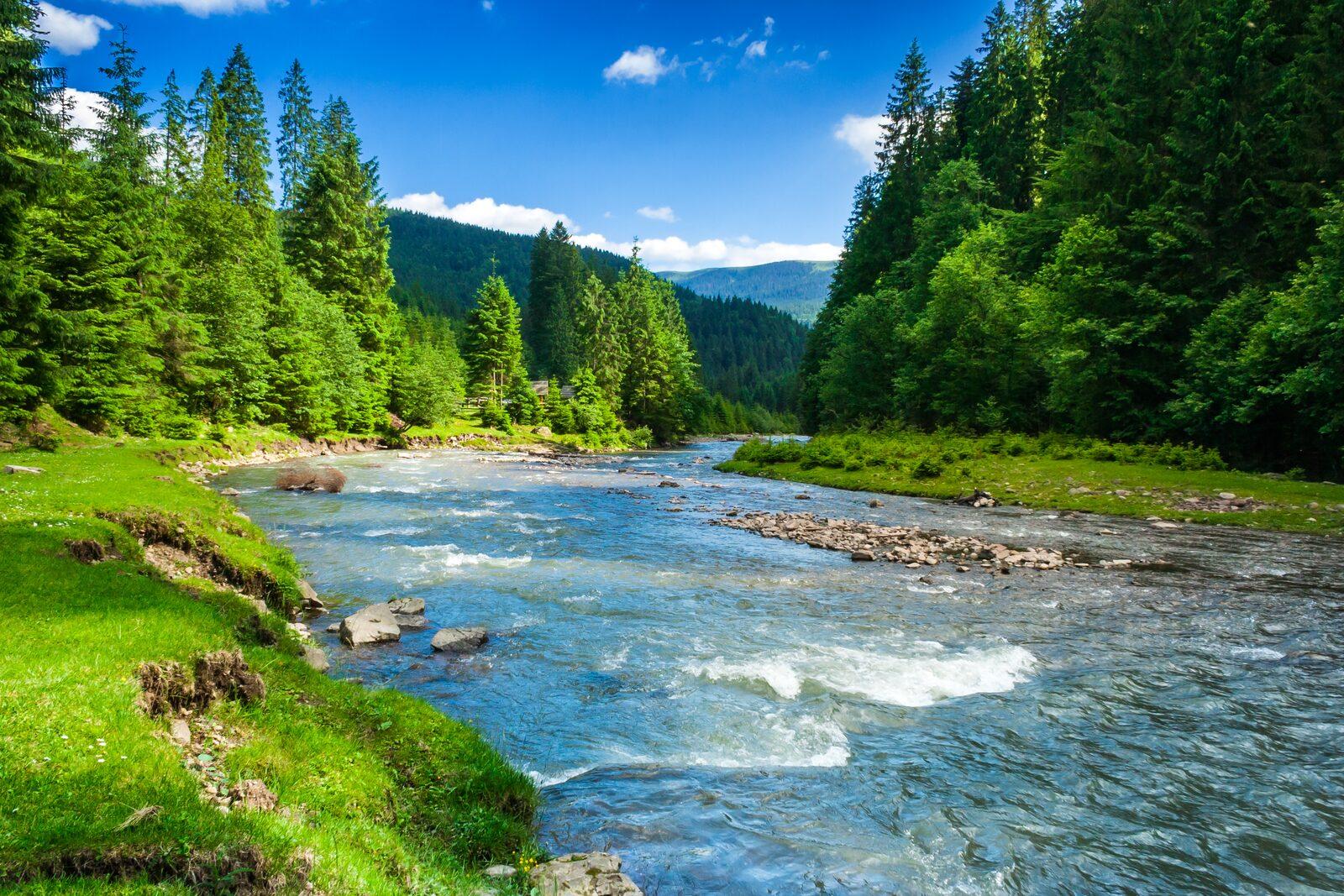Alpenrivier Frankrijk
