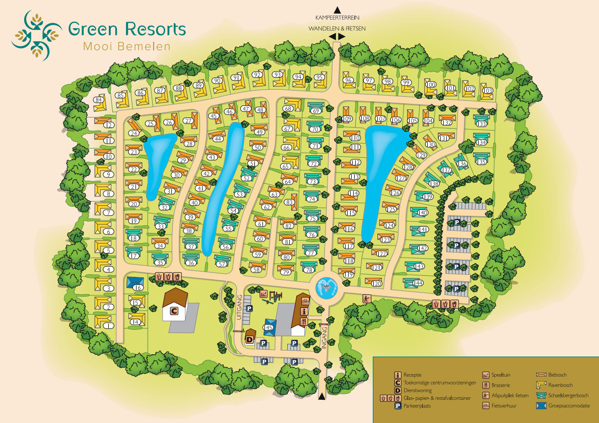 Map of Resort Mooi Bemelen
