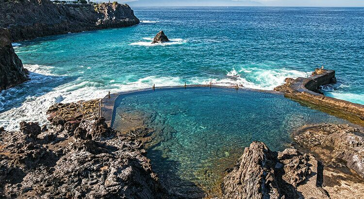 Natural swimmingpool of Garachico