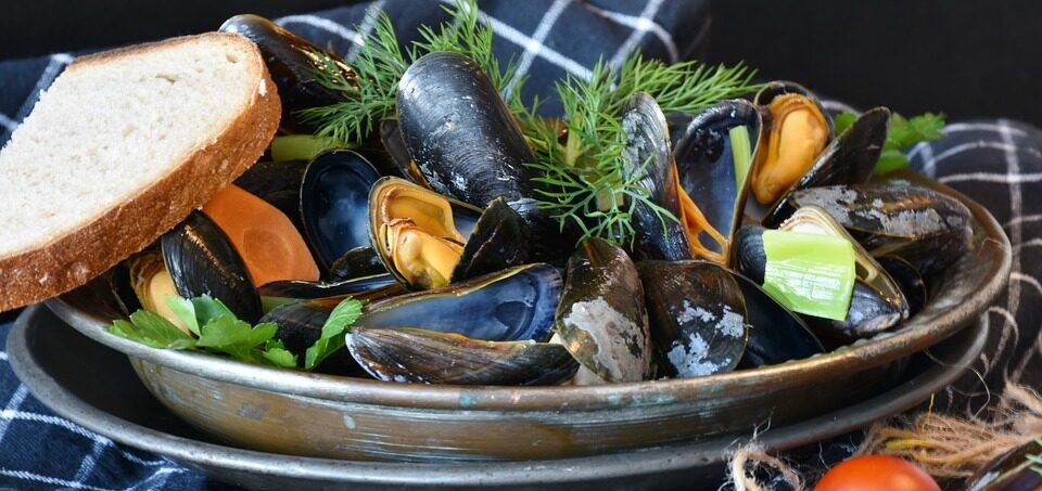Recipe for mussels