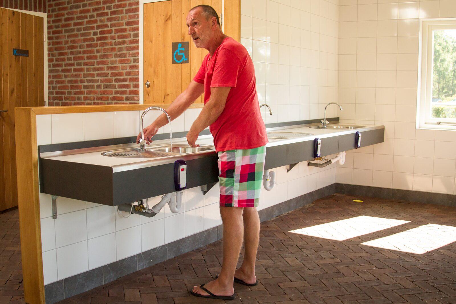 Luxe sanitaire voorzieningen