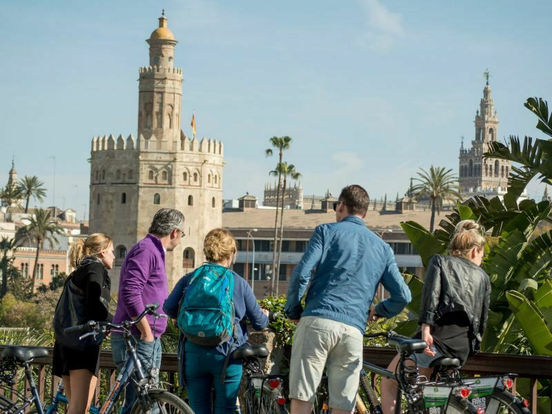 Cycling with BajaBikes in Sevilla