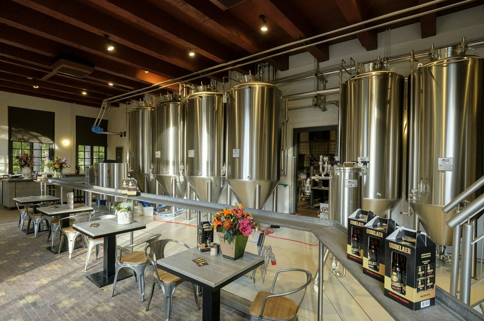 🍺 Guided tour and beer tasting at Brewery de Uddelaer