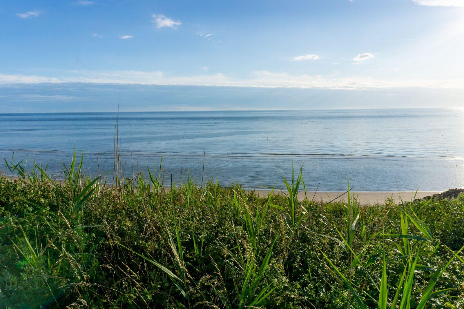 Het strand van Équihen