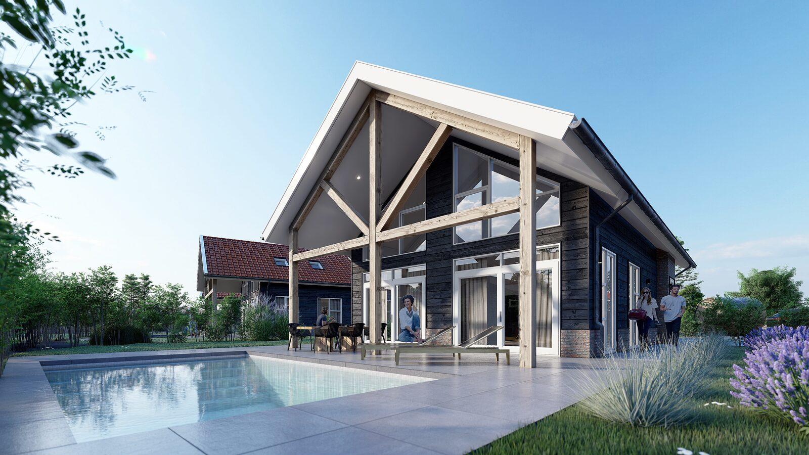 Op Résidence Lichtenvoorde zijn wij druk bezig met de aanleg van het nieuwe villa park. Binnenkort kunt u genieten van deze luxe en dat in eigen land!