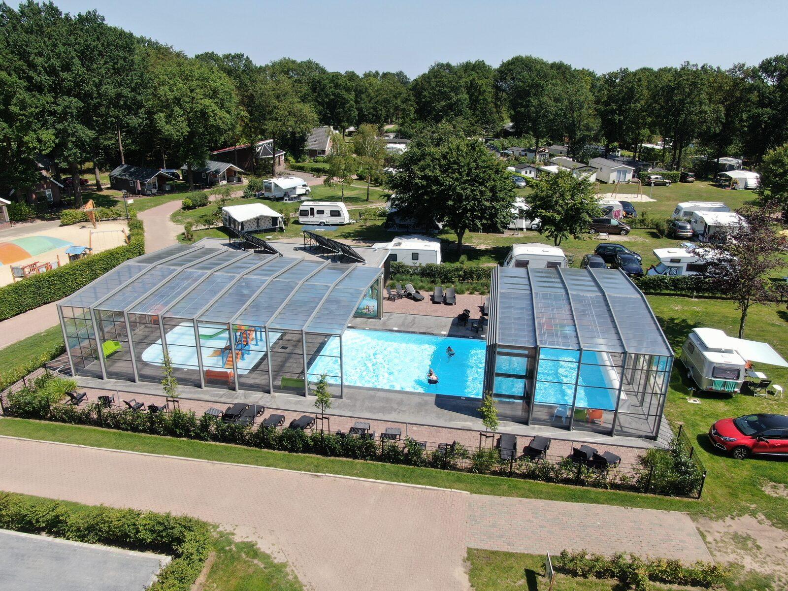 Camping Twente met zwembad