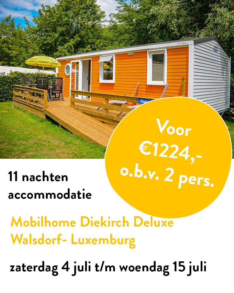 Uitgelicht Mobilhome Diekirch Deluxe