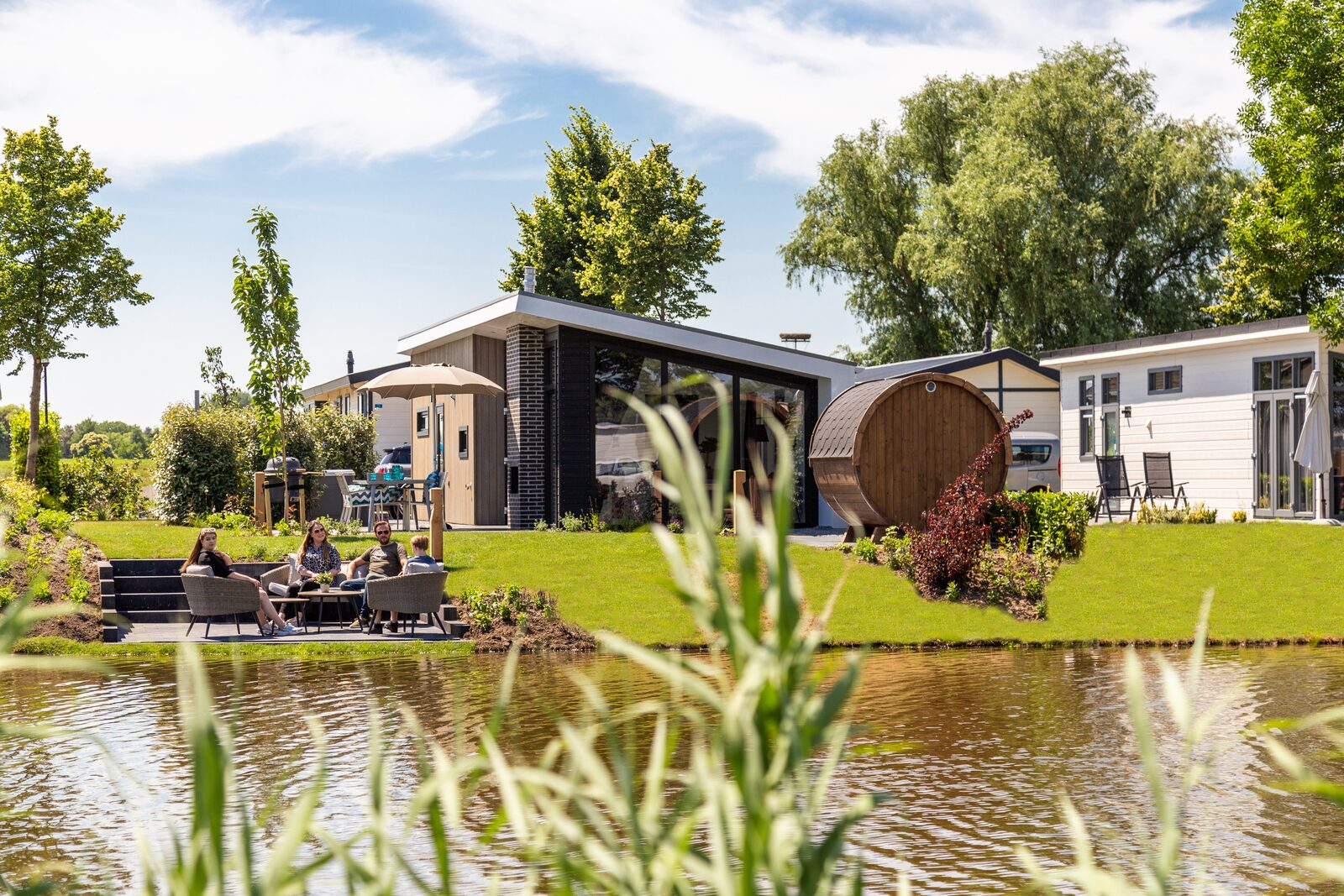Waterlodge met wellness