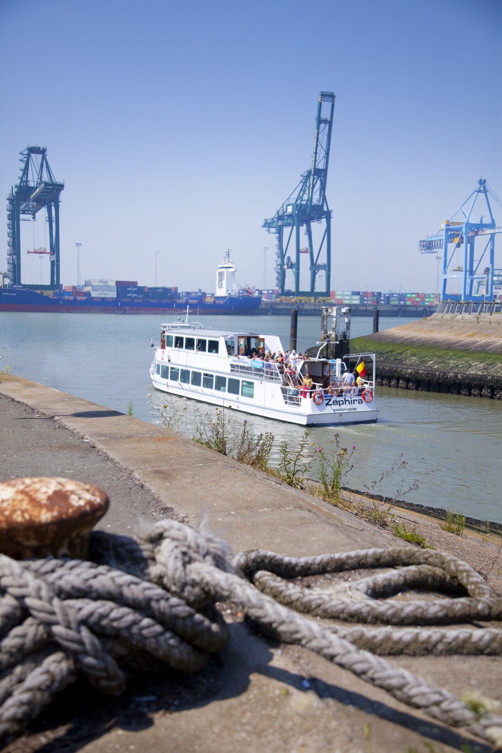 Havenrondvaarten Zeebrugge - Holiday Suites Vakanties