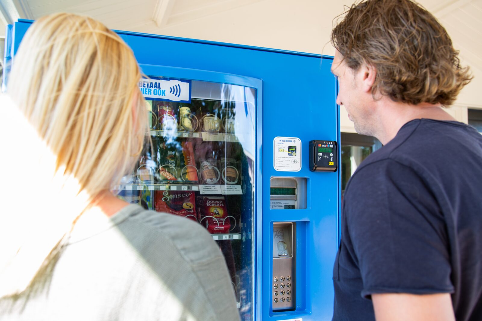 The easily forgotten important groceries are now available from a 24-shop vending machine