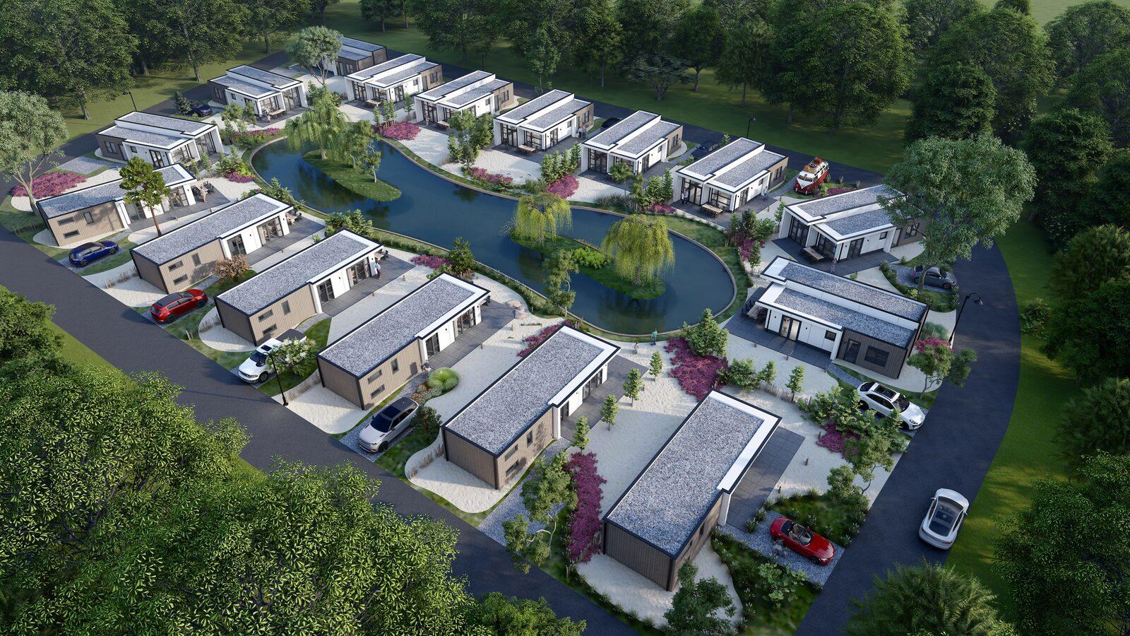 Koop een eigen vakantiehuis op Résidence de Leuvert in het altijd gezellige Brabant.