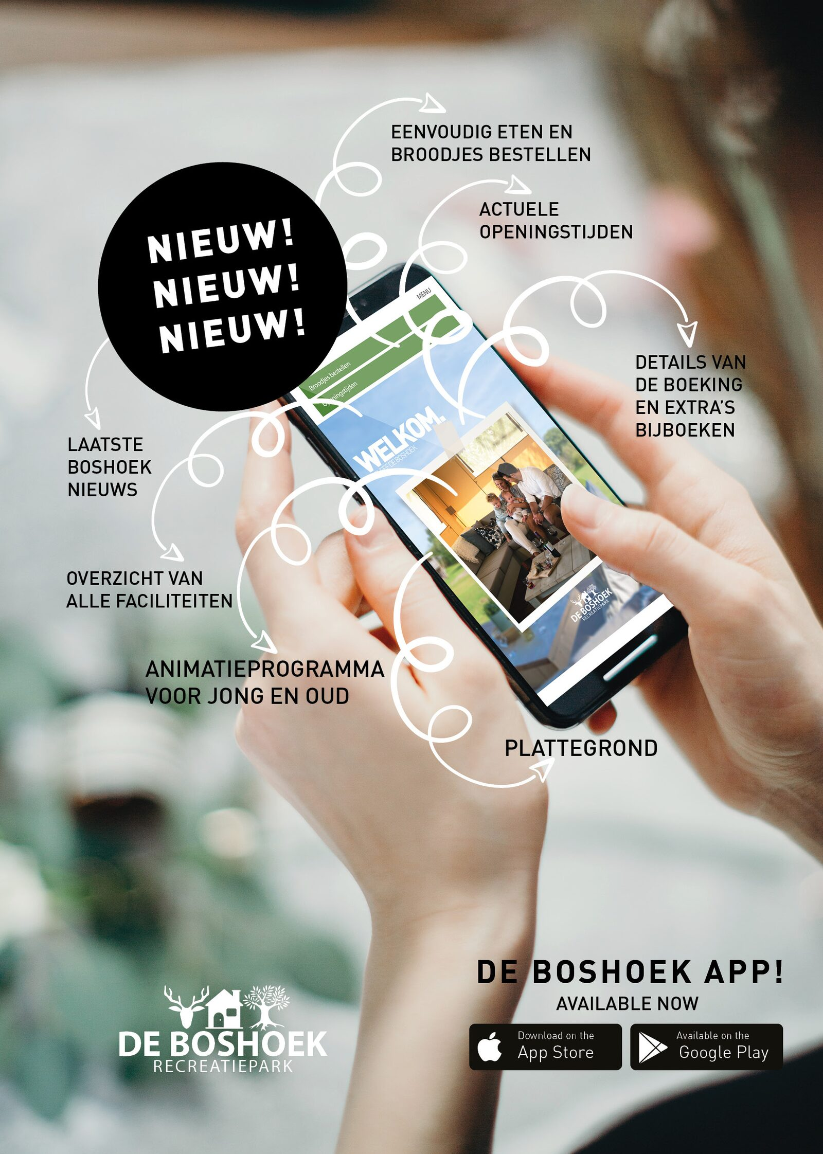 Download The Boshoek App!