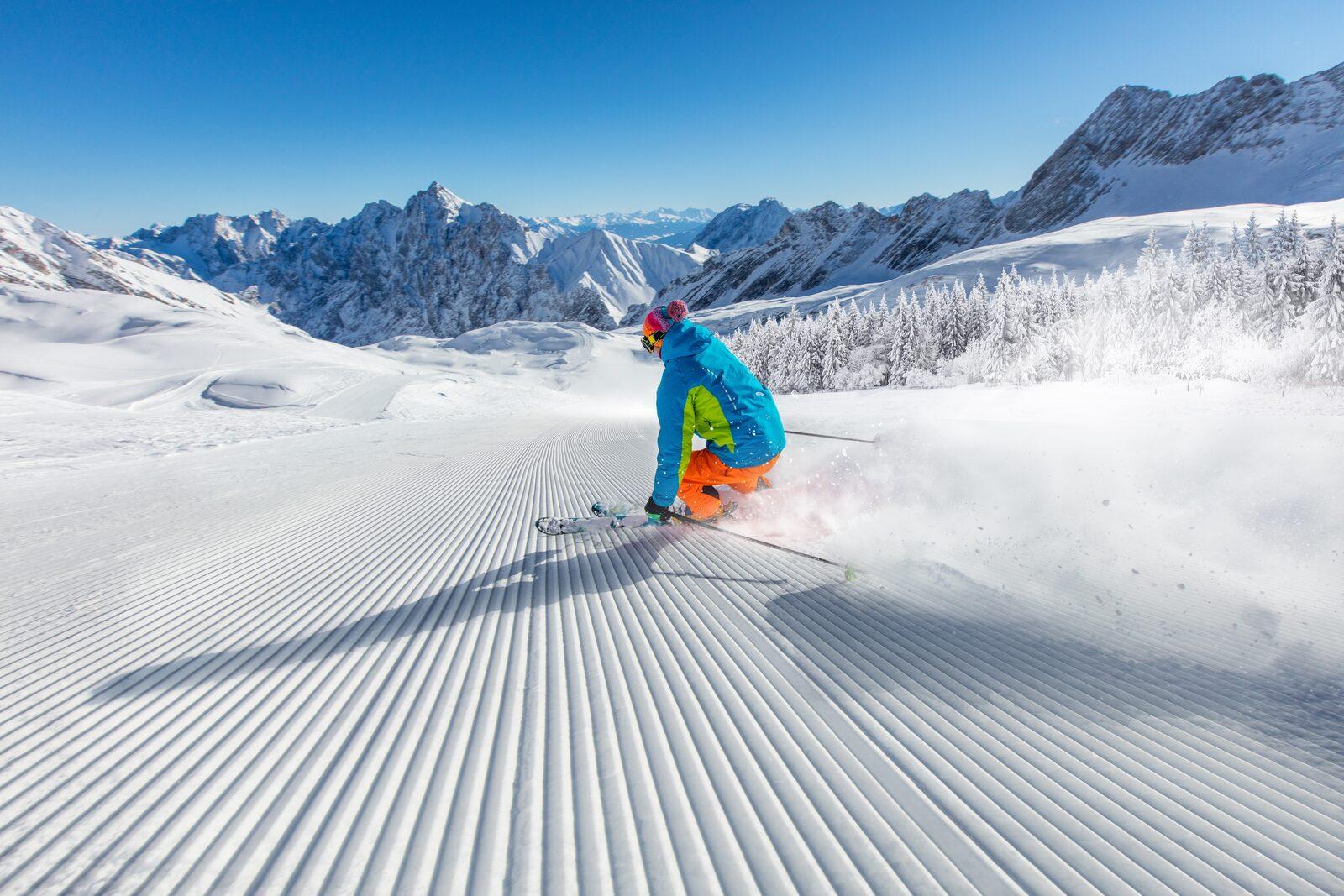 Skishows Tiroler Zugspitz Arena