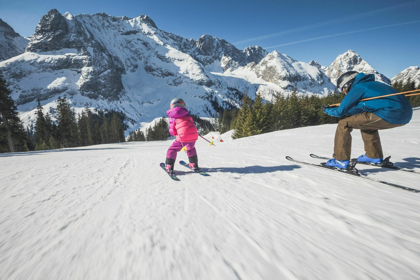 Skigebied Wetterstein